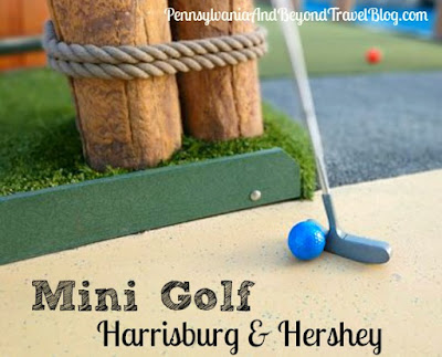 Places to Play Miniature Golf in Harrisburg and Hershey Pennsylvania