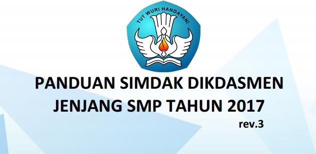 Panduan Pengisian Sistem informasi DAK Dikdasmen Jenjang SMP Tahun 2017