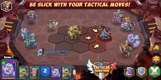 Download Tactical Monsters APK (MOD, All Increase)