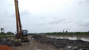 Proyek Normalisasi Hilir Sungai Rangkui Terkesan Mubazir, Akibat Adanya Aktivitas TI Apung Ilegal
