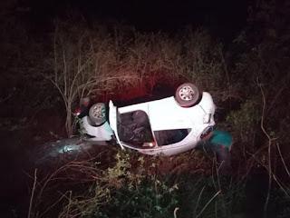 Mulher morre e dois adolescentes e uma criança ficam feridos em acidente na PB