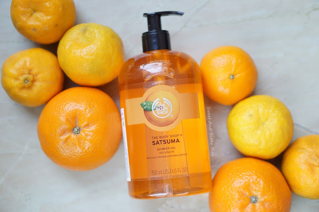 The Body Shop SATSUMA Jumbo Shower Gel Review