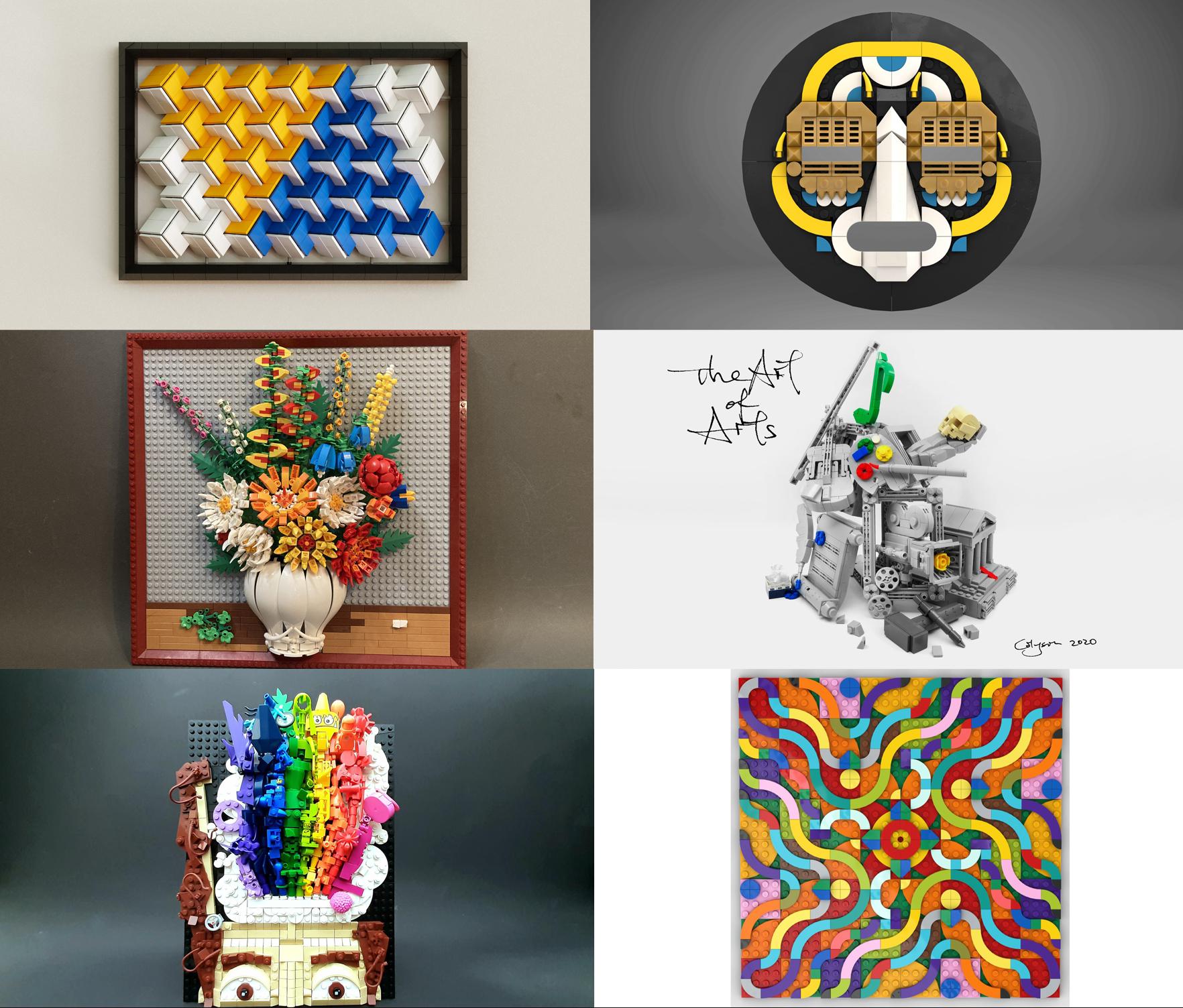 自分の作品がデンマークのレゴ本社に展示されるかも!レゴアイデアのレゴアートコンテスト開催中:2020