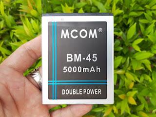 Baterai Handphone Xiaomi Redmi Note 2 BM-45 Double Power MCOM