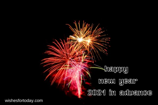 Happy new year 2021 in advance pictures for free