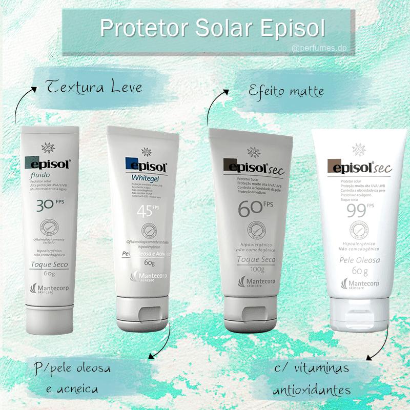 Protetor solar Episol