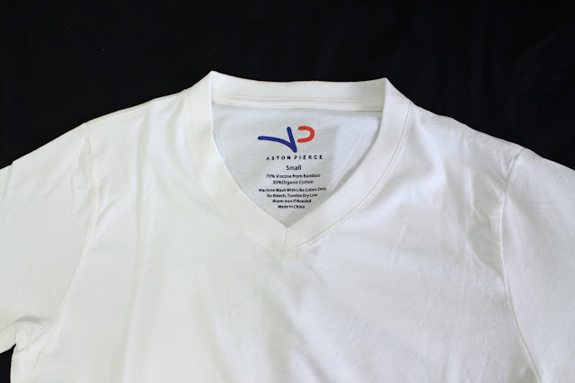 aston pierce, aston pierce review, aston pierce v neck t-shirt, aston pierce blog review, bamboo organic tee men, v neck bamboo tee, aston pierce brand, aston pierce shirt