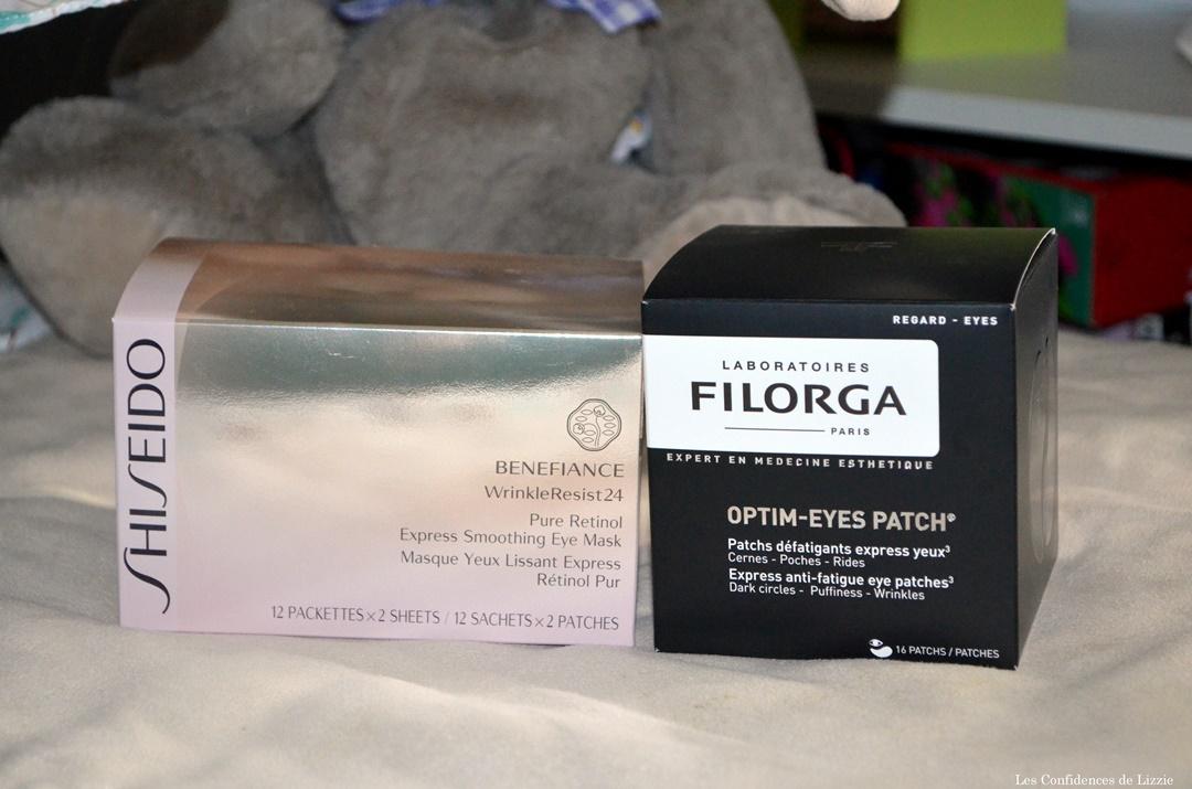 garnier-filorga-shiseido-masques-contour-des-yeux