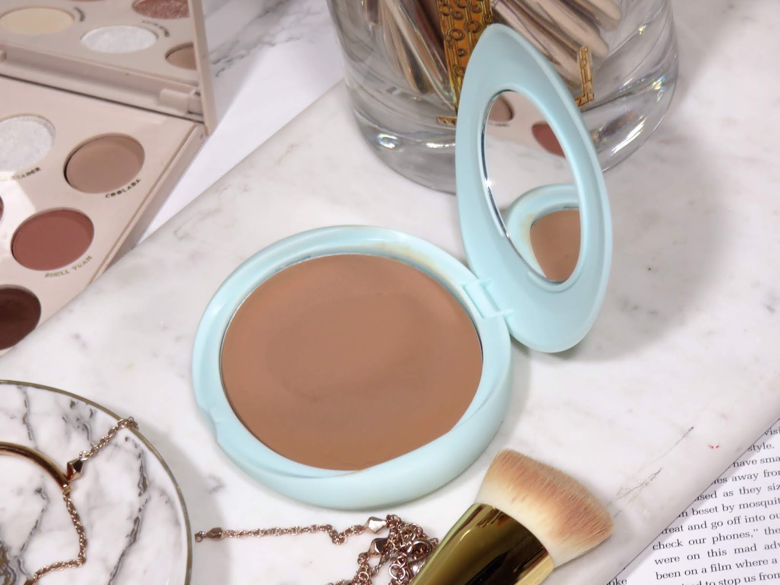 Tarte SEA Breezy Cream Bronzer Review & Swatches