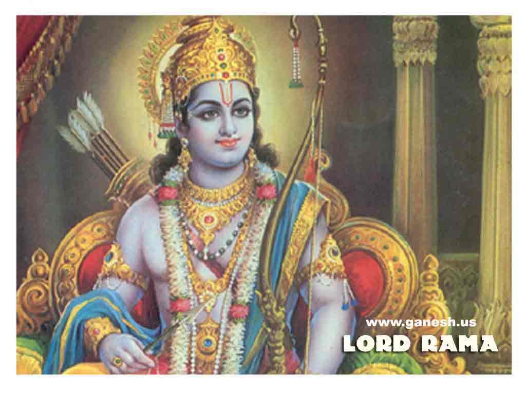 INDIAN GODS WALLPAPER: SHREE RAMA