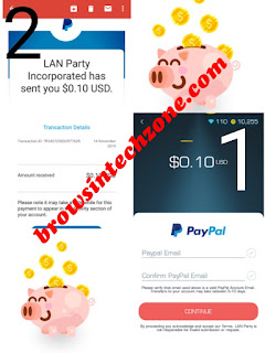 LANPARTY App Payment Proof