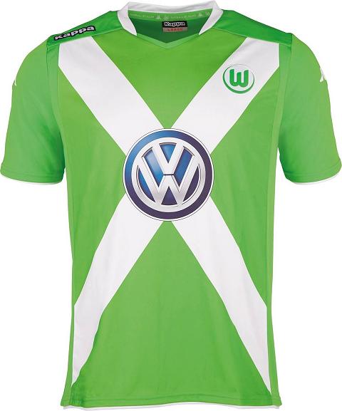c09a12f90576c Kappa apresenta as novas camisas do Wolfsburg - Show de Camisas
