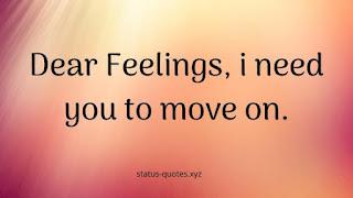 feeling status