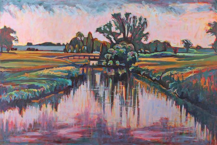 Ритм, форма, цвет и свет пейзажей. Nina Weiss