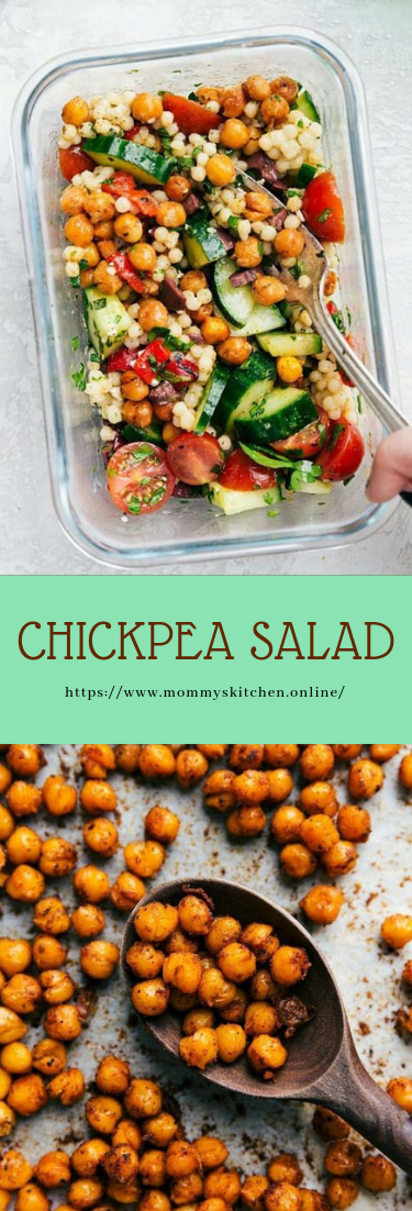 CHICKPEA SALAD #vegan #recipe