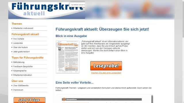 Beitragsbild: Verlag für die deutsche Wirtschaft | Rechnung für Führungskraft aktuell