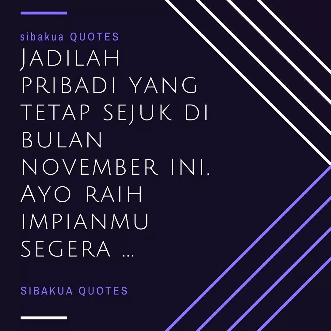 kata bulan november