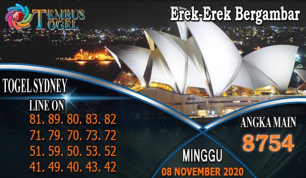Erek-Erek Bergambar Togel Sidney Hari Minggu 08 November 2020