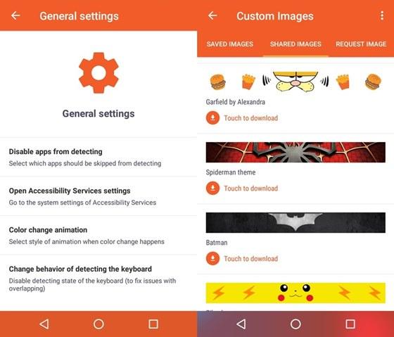 Navbar App Features