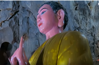 Buddha In Vietnam Teple