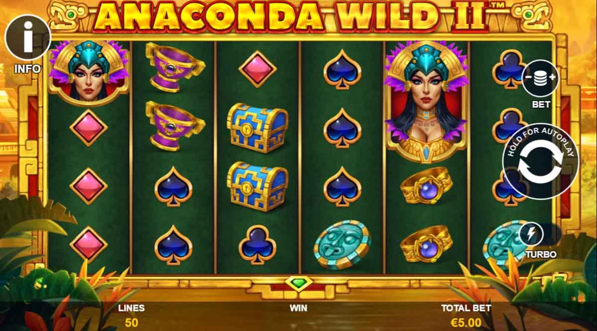 Anaconda Wild 2 - Demo Slot Online Playtech Indonesia