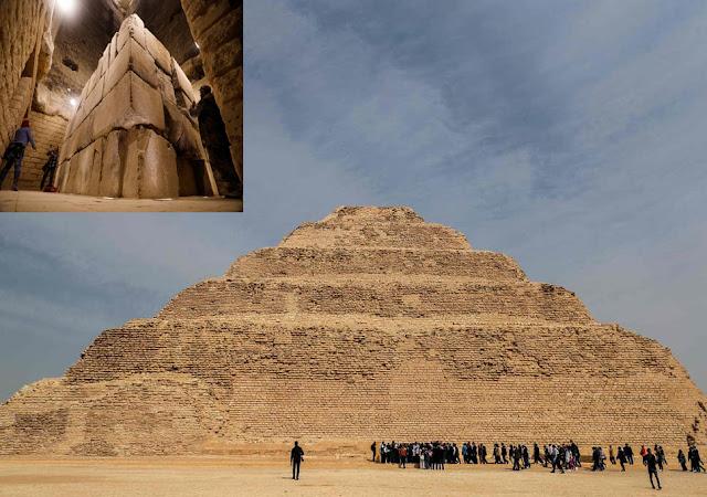 مصر تعيد فتح أقدم هرم في العالم أمام الزوار