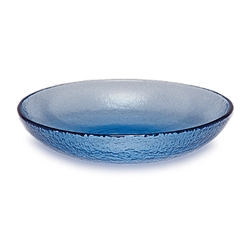 fire and light glass bowl