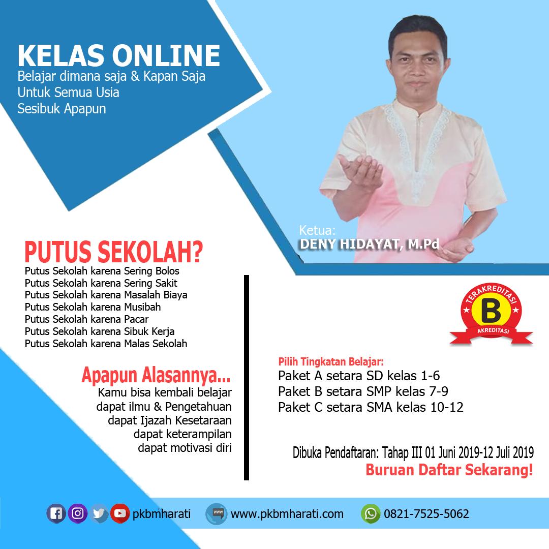 Formulir Pendaftaran Pkbm Harati Pkbm Harati