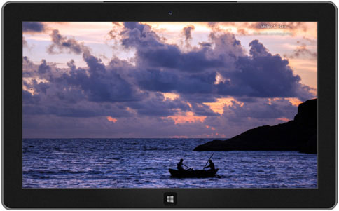 South Indian Beaches Theme for Windows
