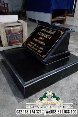 Nisan Kotak Bahan Granit