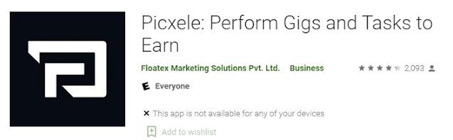 Picxele application