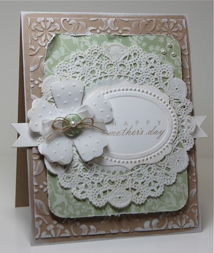 Mama Mo Stamps: Shabby Chic, take 2