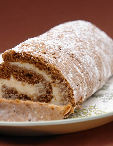 Laura's Gluten-Free Pumpkin Roll Recipe