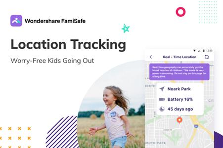 WonderShare FamiSafe Location Tracking App
