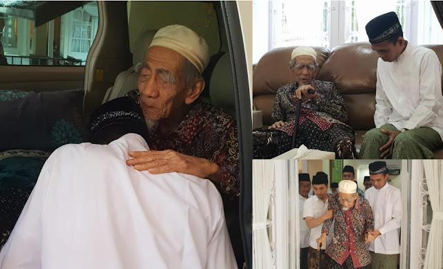Ustaz Abdul Somad Sowan ke Mbah Moen