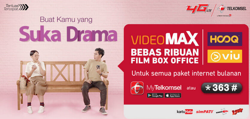 Videomax Paket Baru Buat Streaming Video Telkomsel Galitrik