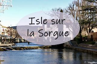 Isle sur la Sorgue cosa vedere in città - camper