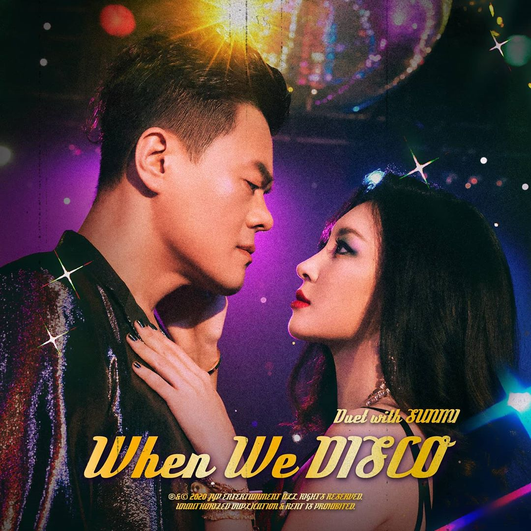 J.Y. PARK & SUNMI WHEN WE DISCO