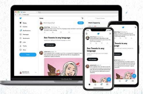 Twitter has redesigned its website and introduced new fonts