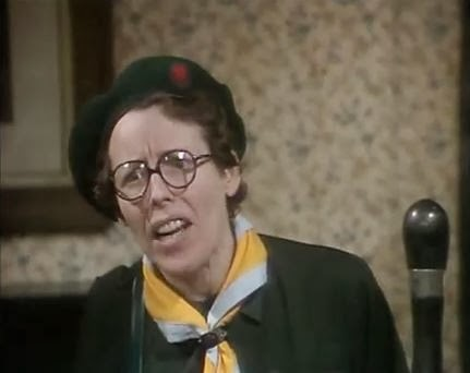 Deddie Davies as Akela in the British comedy 'Get Some In'