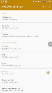 Setting Game PUBG Grafik tertinggi Disemua Hp Android Via GFX Tools