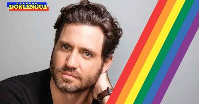 Edgar Ramírez se unió a la celebración del Mes del Orgullo Gay