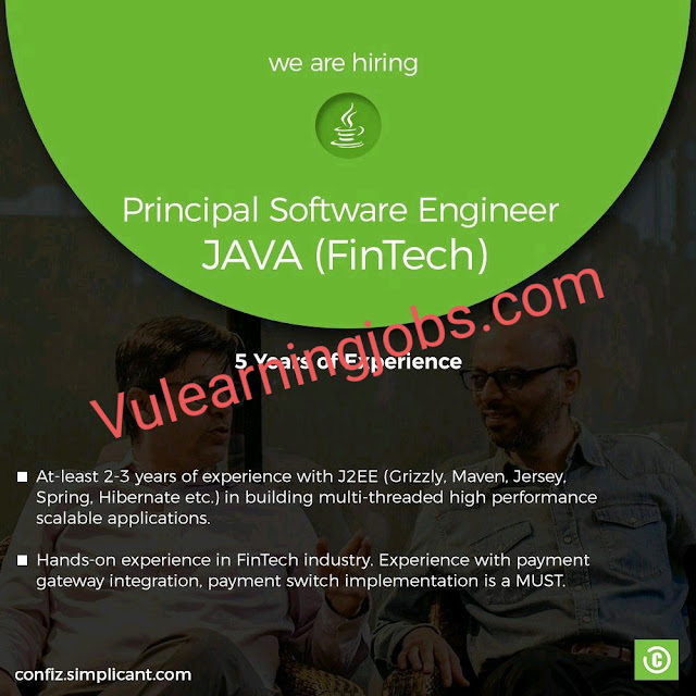 Confiz Jobs 2020 In Pakistan For Principal Software Engineer, Functional Consultant Latest