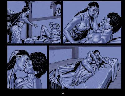 Inguinis Oracle tome 2 - une nuit de  sexe entre Licinia et Gaïus