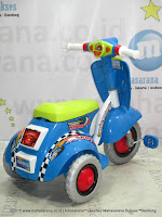 Ride-on Car Royal RY309S Skuter Blue
