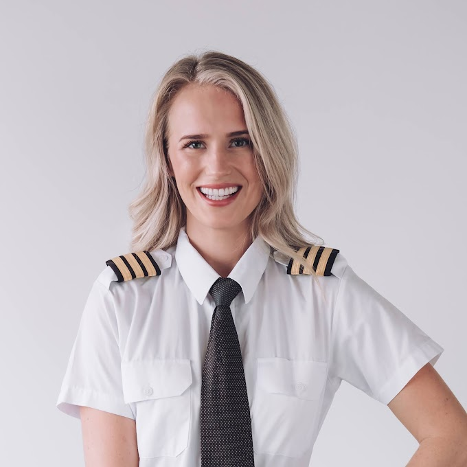 Flying as a Career Is a Great and Unique Career - Maria Fagerstrom