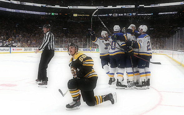 Blues defeated the Bruins, but the officials took center stage in the Stanley Cup finals