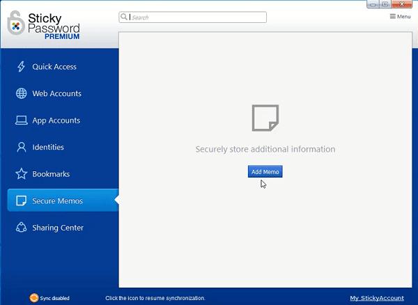 أفضل برامج الكمبيوتر برنامج Sticky Password