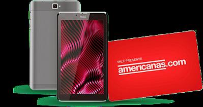 promoção tablet americanas