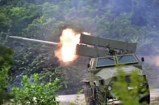 Peluncur Roket-Rudal Multi Kaliber Modular LRSVM M18